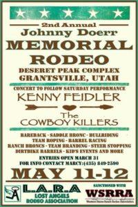 Johnny Doerr Memorial Rodeo @ Deseret Peak Complex Outdoor Arena | Grantsville | Utah | United States
