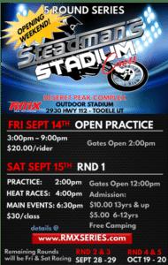 Steadman's Stadium Cross - Open Practice @ Deseret Peak Complex Motorized Arena | Grantsville | Utah | United States