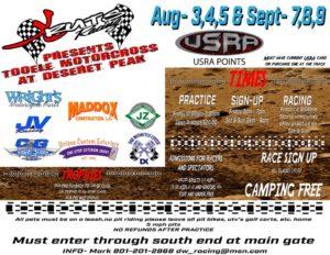 USRA Race @ Steadman's MX Park | Grantsville | Utah | United States