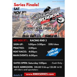 Steadman's Stadium Cross Series Finale @ Deseret Peak Complex Motorized Arena