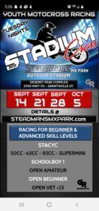 2021 Stadium Cross at Steadman's MX Park Outdoor Stadium @ Steadman's Stadium Cross | Grantsville | Utah | United States