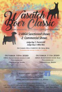 Wasatch Boer Classic @ DPC Indoor Arena | Grantsville | Utah | United States