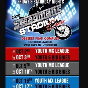 2020 Steadman's Stadium Cross - Saturday @ Steadman's Stadium Cross | Grantsville | Utah | United States